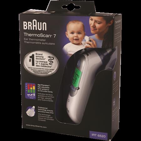 BRAUN בראון IRT6520 מד חום