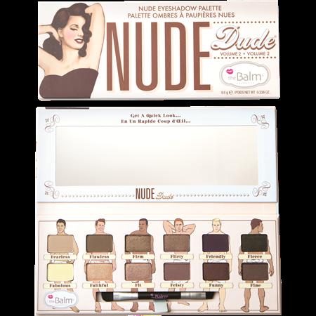 THE BALM Nude Dude פלטת צלליות